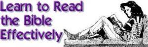 Glasgow Kelvin Christadelphians Learn to Read the Bible Effectively